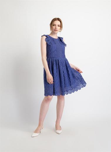 Fracomina Elbise Mavi